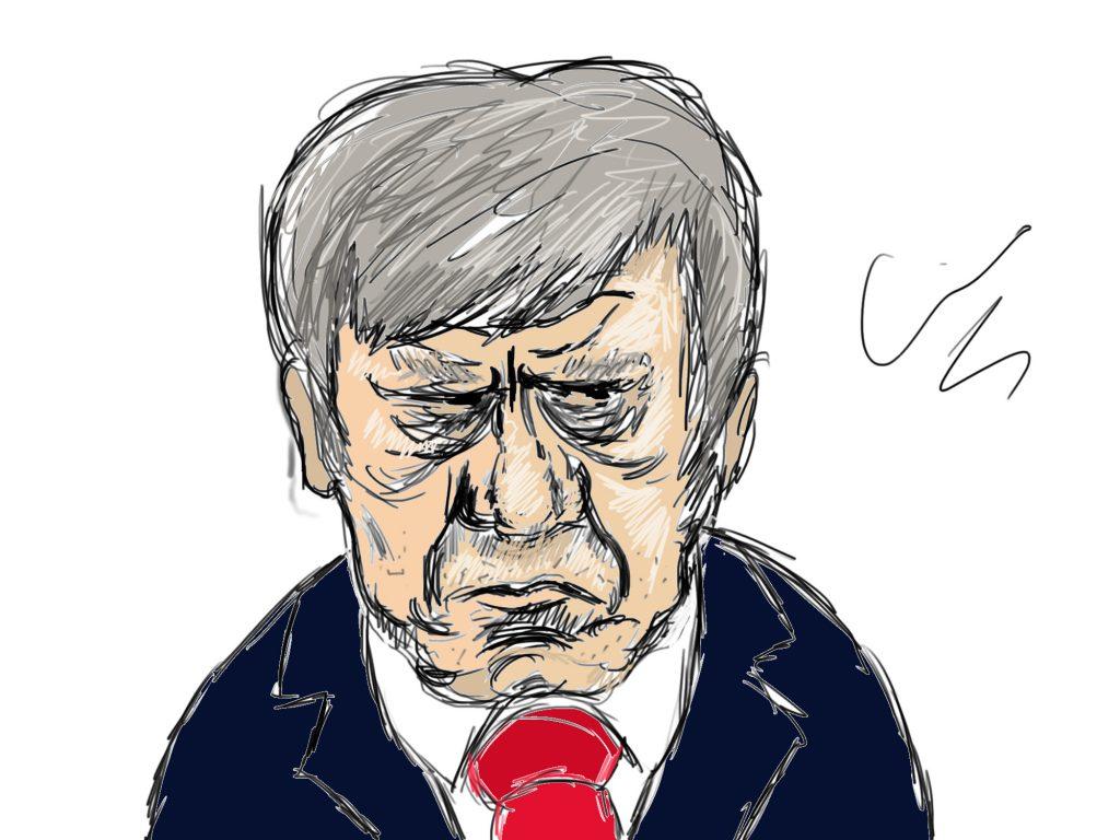 Ivo Opstelten Karikatuur Aike